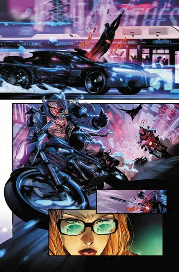 The New Look Batmobile From Batman #106 (Preview)