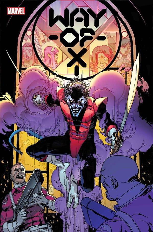 Si Spurrier and Bob Quinn Launch Nightcrawler Comic, Way Of X