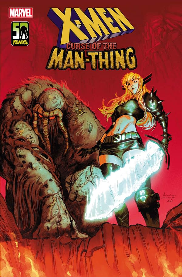 There is no need to feel ashamed, comrade! Magik of the X-Men will help you overcome this Curse of the Man-Thing.