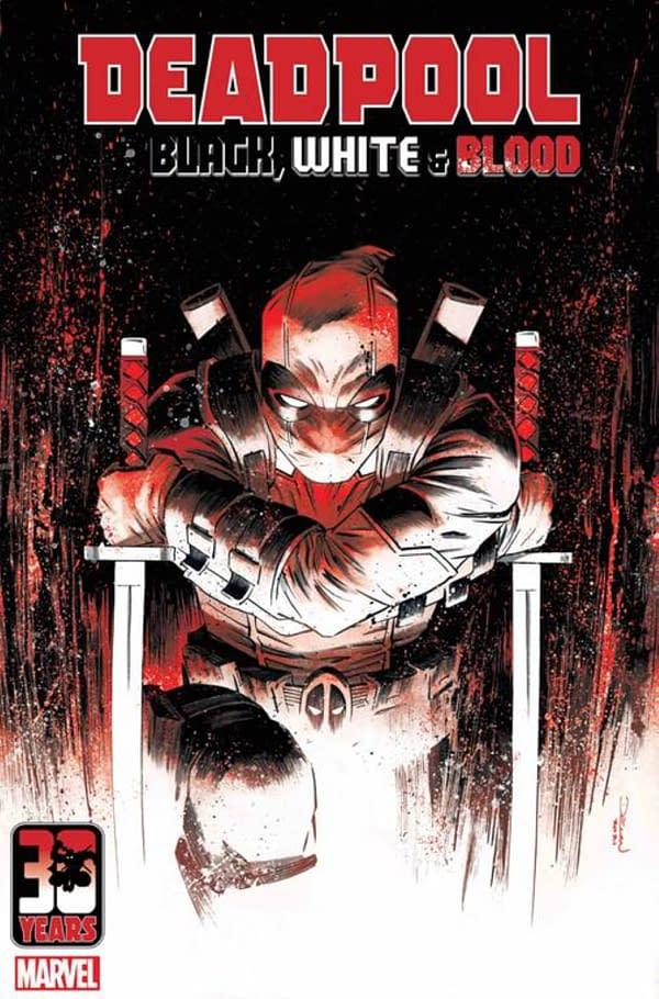 Deadpool: Black, White & Blood Begins In August