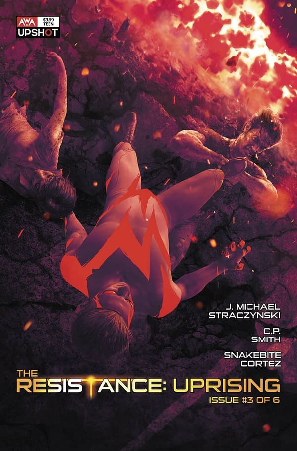 J Michael Straczynski and Mike Choi Launch Moths #1 From AWA in June