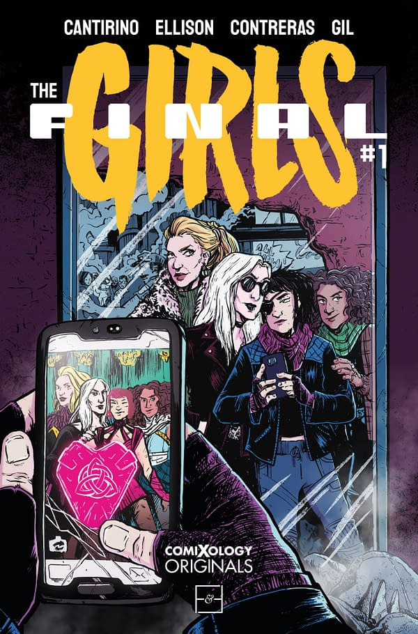The cover to The Final Girls #1