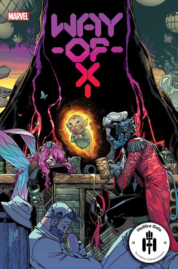 X-Men Hellfire Gala Marvel Solicitations For June 2021