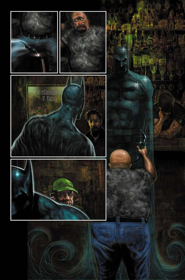 Batman/Killer Croc Comic From DC Black Label