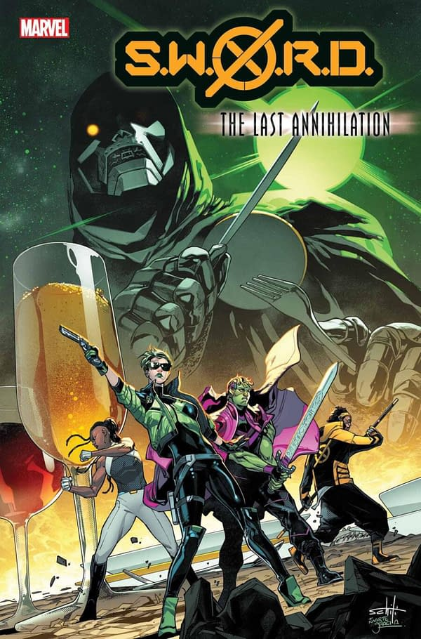 Marvel Comics Launches The Last Annihilation Crossover In July