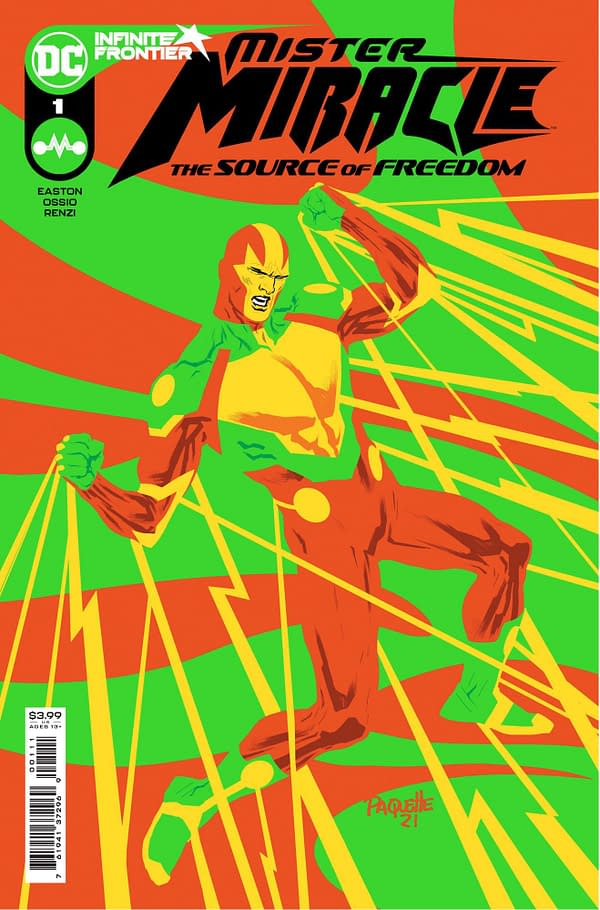 Cover image for MISTER MIRACLE THE SOURCE OF FREEDOM #1 (OF 6) CVR A YANICK PAQUETTE