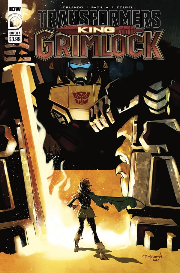 Transformers King Grimlock Issue 1 Cover A