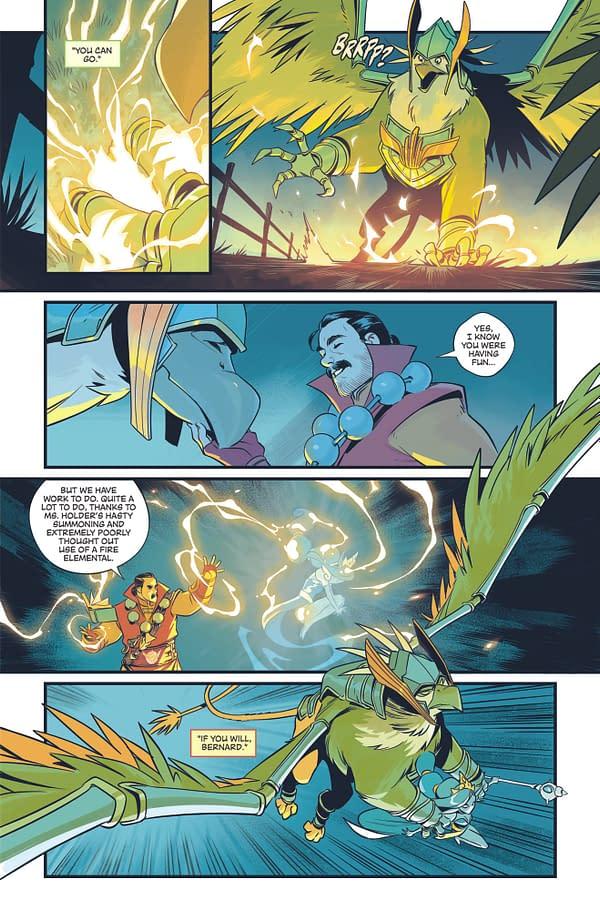Interview: Justin Jordan Chats Summoners War: Legacy Comic Book