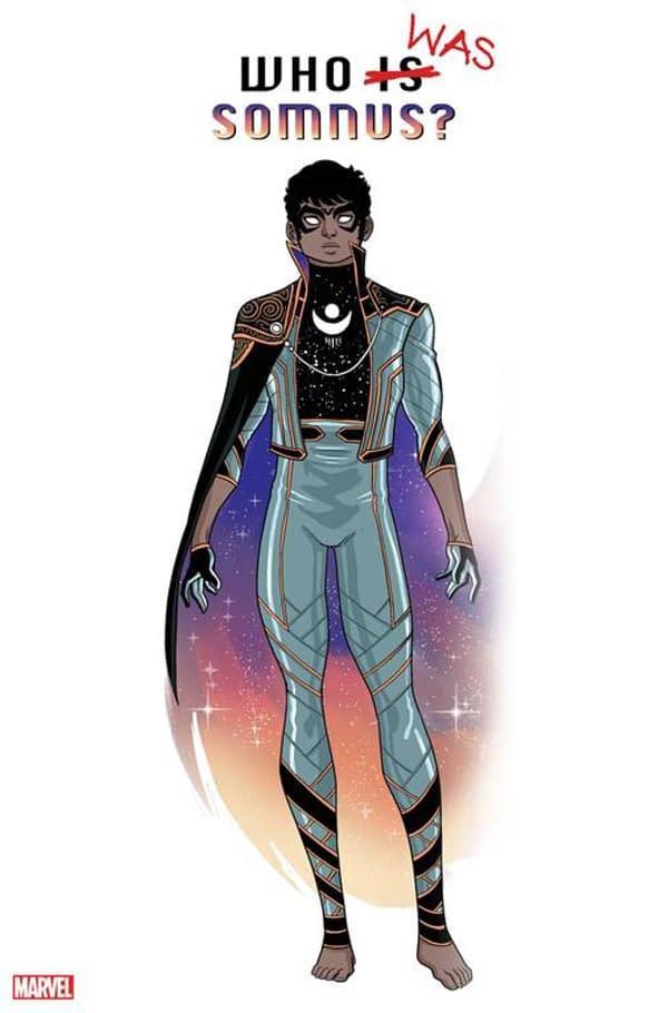 Somnus, A New Character Debuting In Marvel Pride?