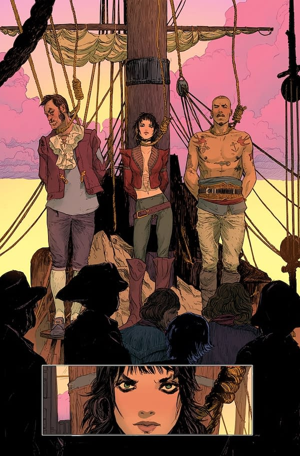Pyrate Queen #1 by Peter Milligan and Adam Pollina, Bad Idea Final 5