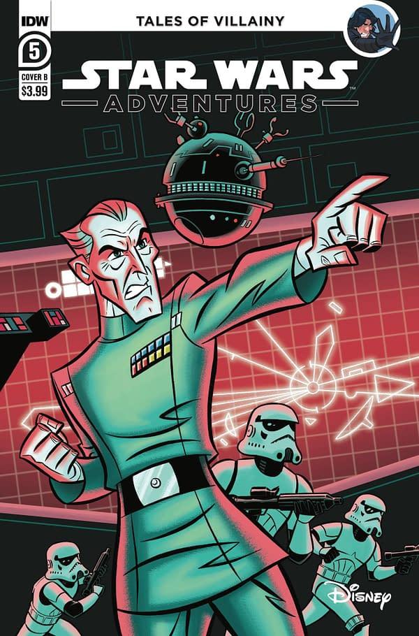 Cover image for STAR WARS ADVENTURES (2020) #5 CVR B BEAVERS