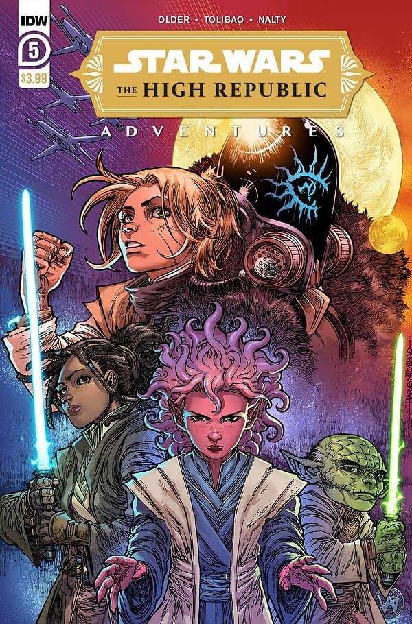 Cover image for STAR WARS HIGH REPUBLIC ADVENTURES #5