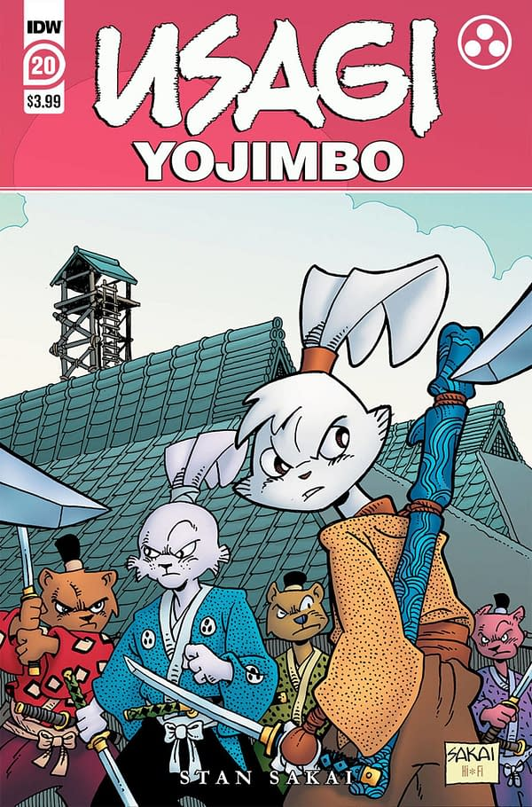 Cover image for USAGI YOJIMBO #20