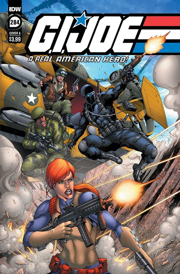 Cover image for GI JOE A REAL AMERICAN HERO #284 CVR A ANDREW GRIFFITH