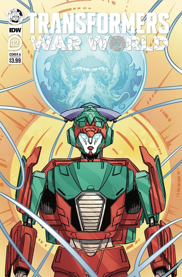 Cover image for TRANSFORMERS #32 CVR A DAN SCHOENING