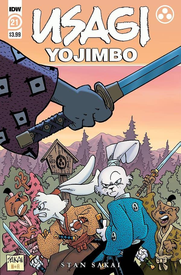 Cover image for USAGI YOJIMBO #21 CVR A SAKAI