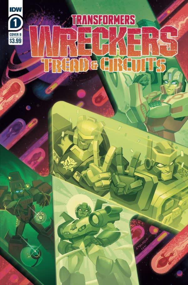 Transformers Wreckers Tread & Circuits Brings Wreck & Rule Back