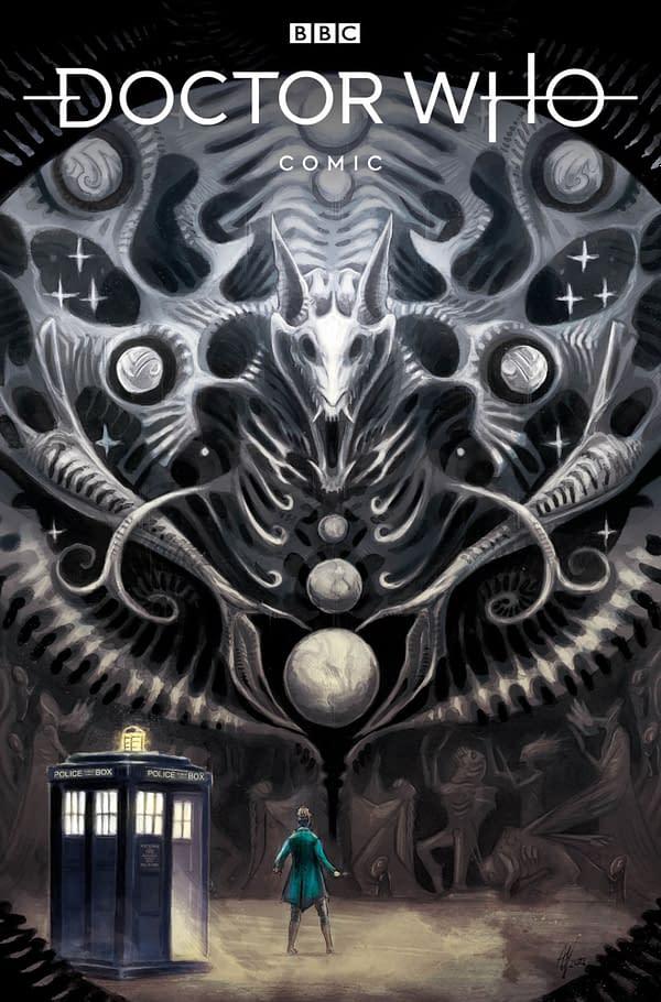 Doctor Who Comic in November