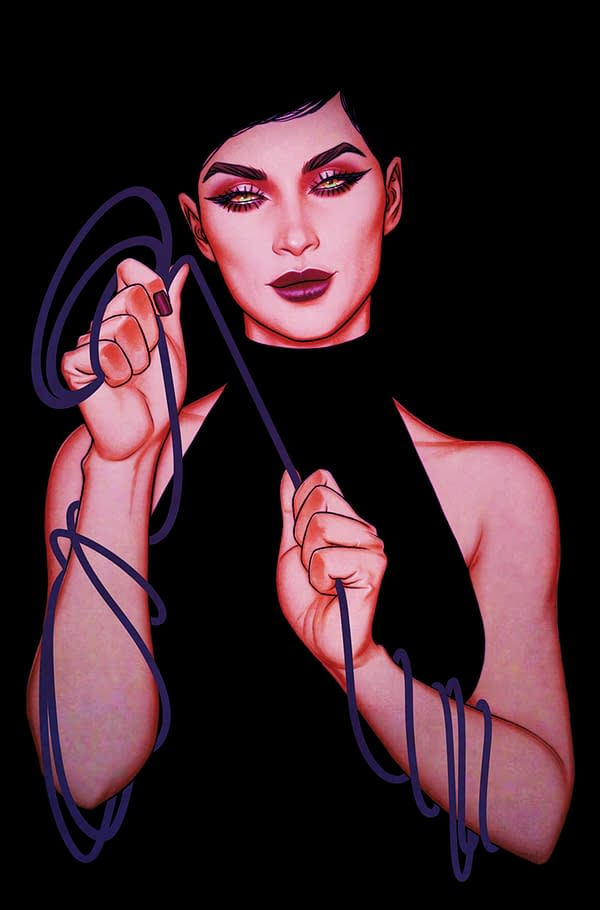 Cover image for CATWOMAN #35 CVR B JENNY FRISON CARD STOCK VAR (FEAR STATE)