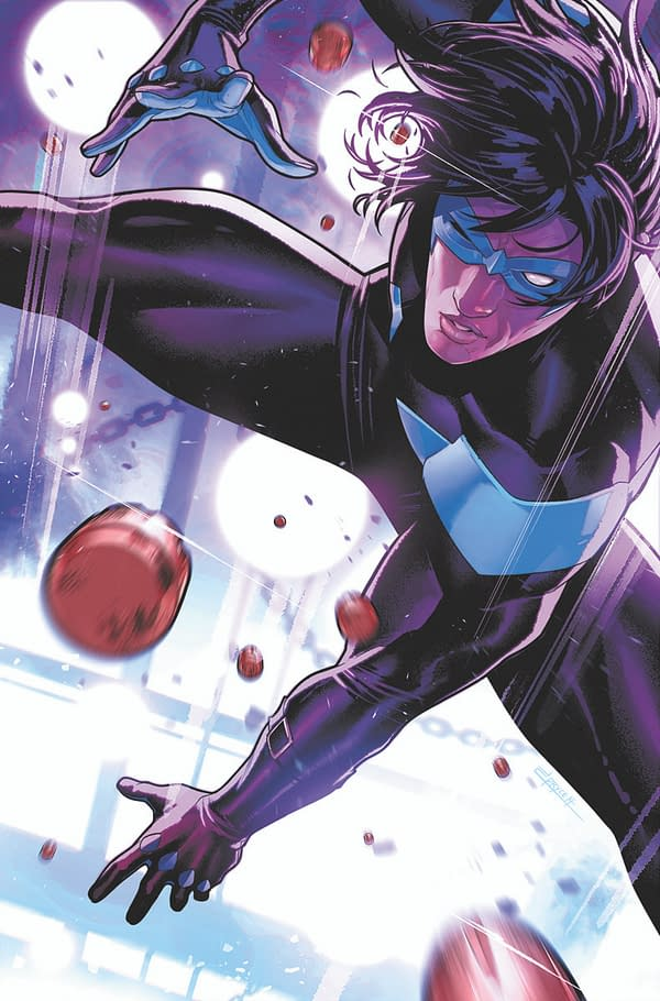 Cover image for NIGHTWING #84 CVR B JAMAL CAMPBELL CARD STOCK VAR (FEAR STATE)