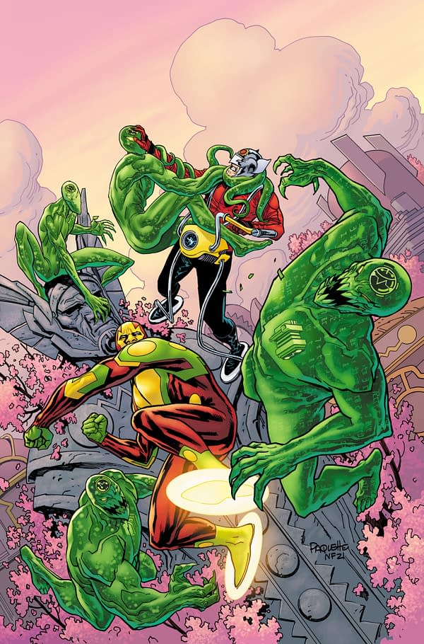 Cover image for MISTER MIRACLE THE SOURCE OF FREEDOM #5 (OF 6) CVR A YANICK PAQUETTE
