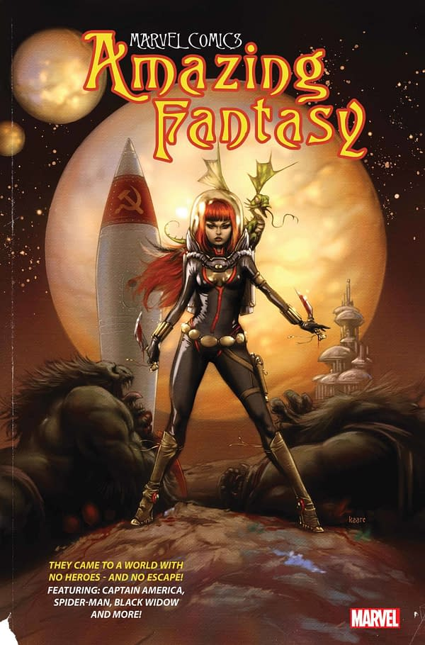 Cover image for AMAZING FANTASY #3 (OF 5)