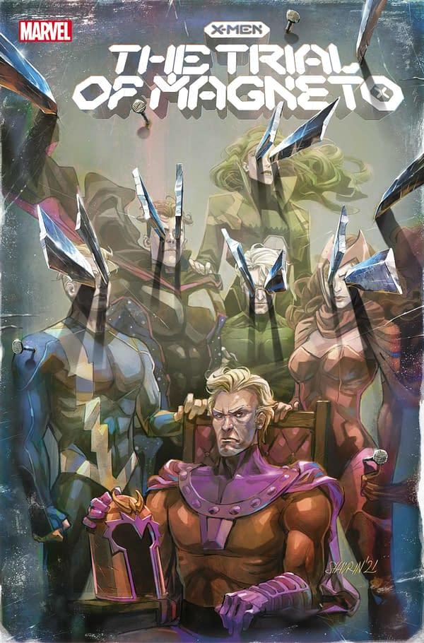 Cover image for X-MEN TRIAL OF MAGNETO #2 (OF 5) SHAVRIN VAR