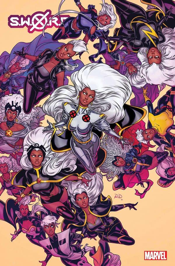 Cover image for SWORD #8 DAUTERMAN VAR