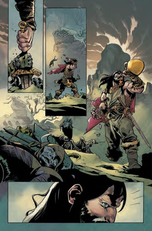 Our First Look At Jason Aaron and Mahmud Asrar's King Conan #1