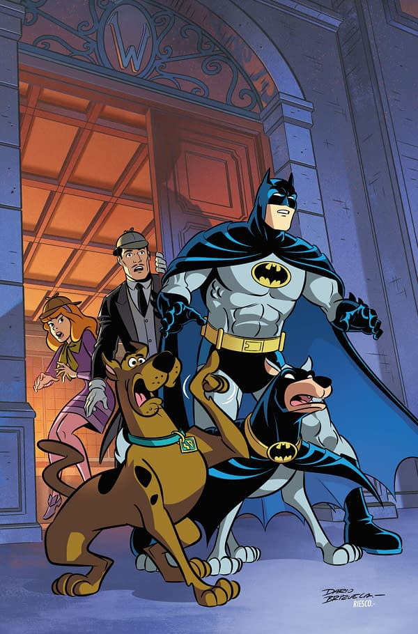 Cover image for BATMAN & SCOOBY-DOO MYSTERIES #7 (OF 12)