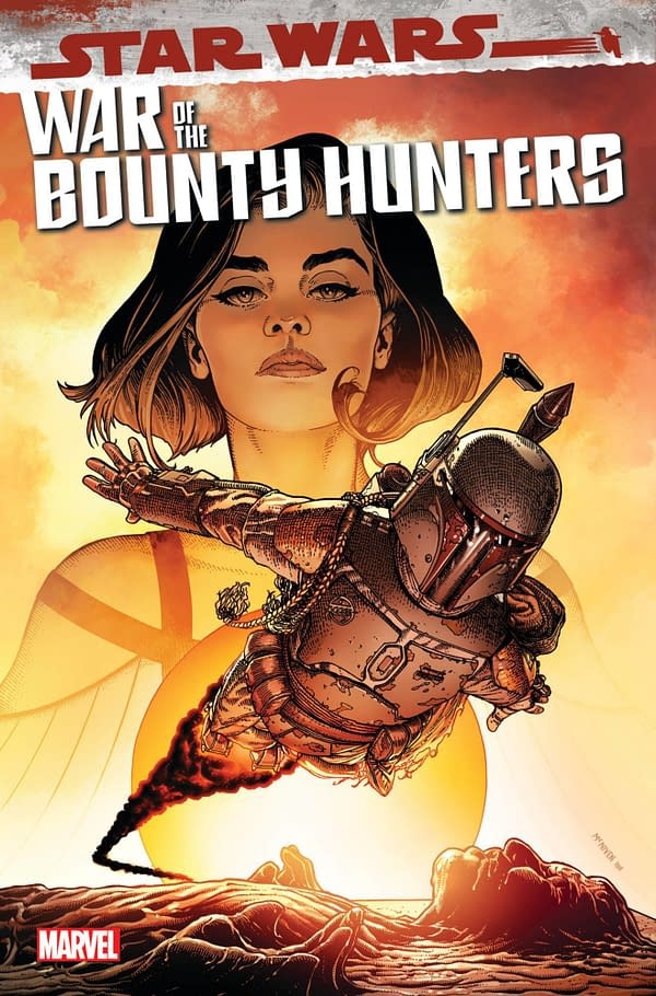 Cover image for AUG211236 STAR WARS WAR OF THE BOUNTY HUNTERS #5 (OF 5), by (W) Charles Soule (A) Luke Ross (CA) Steve McNiven, in stores Wednesday, October 13, 2021 from MARVEL COMICS