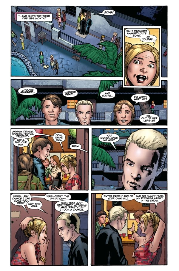 """""""Faster! More! Naked!"""" – Buffy Season 9 #1 Preview"""