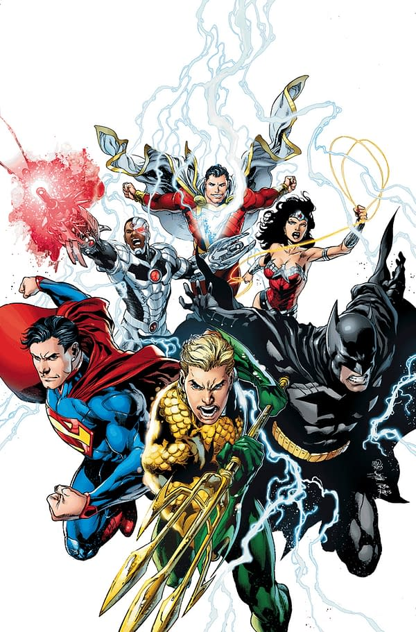 Ivan Reis To Replace Jim Lee On Justice League With Issue 15, Confirmed