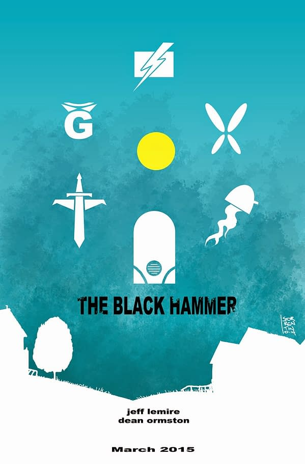 Jeff Lemire And Dean Ormston's Black Hammer To Spread Its Wings For San Diego?