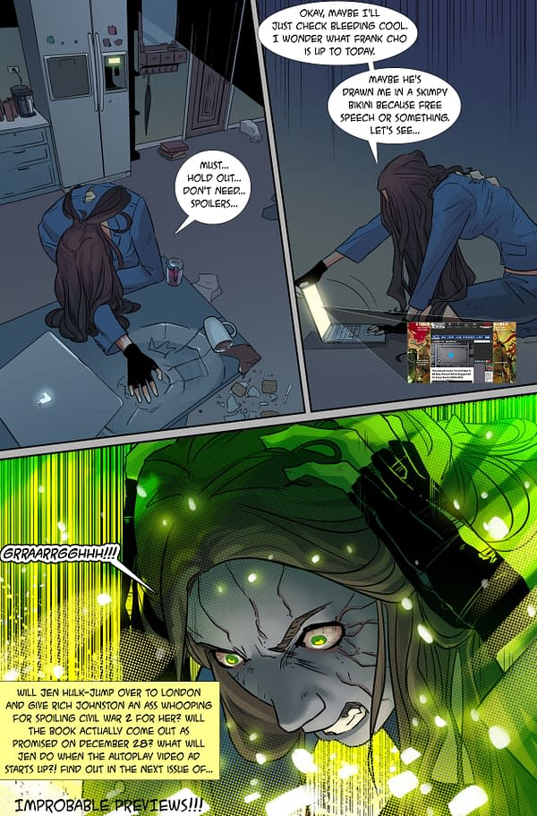 Improbable Previews: First Look at Hulk #1 By Tamaki and Leon
