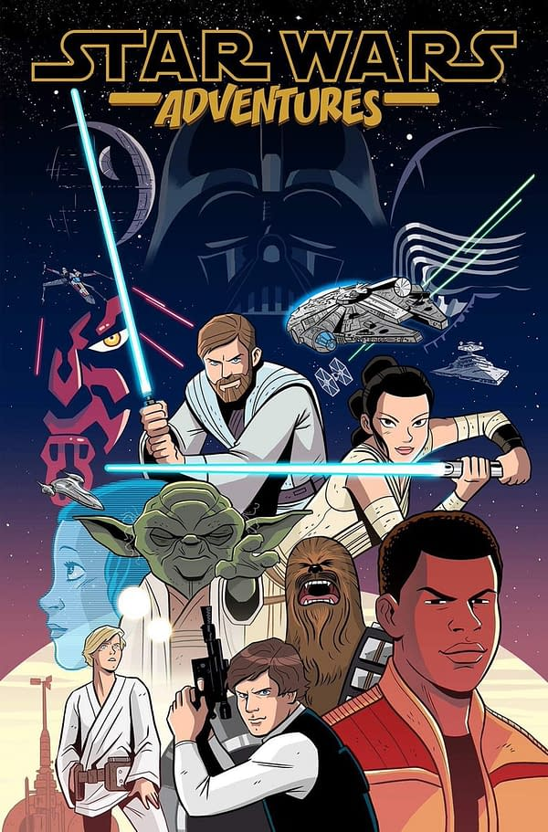 "All-Ages ""Star Wars Adventures"" Comic Coming From IDW In September, More To Follow? [UPDATED]"
