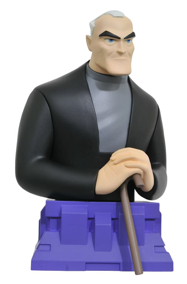 Batman Beyond Old Man Bruce Bust Looking Regal From Diamond Select Toys
