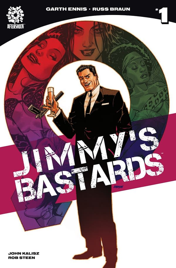 Jimmy's Bastards #1 - cover