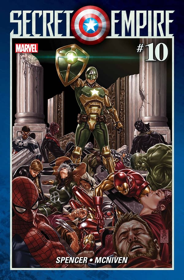 Today's Secret Empire #7 Revisits That Scene With Thor's Hammer, Ahead Of The Final Issues