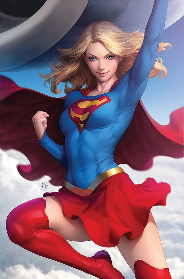 DC Comics Variant Covers For August From Emanuela Lupacchino, Frank Cho, And Stanley Artgerm Lau