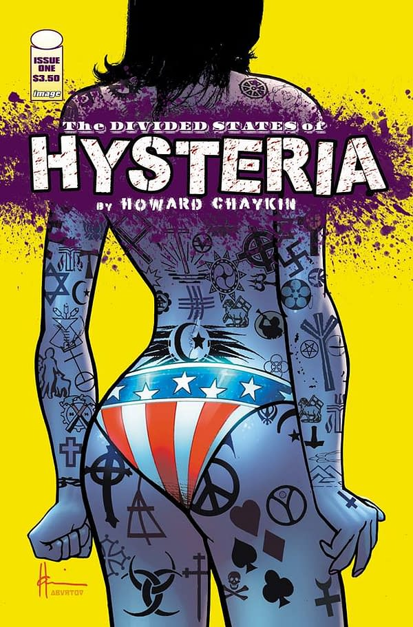 Howard Chaykin Had To Change Another Cover 'For Divided States Of Hysteria'