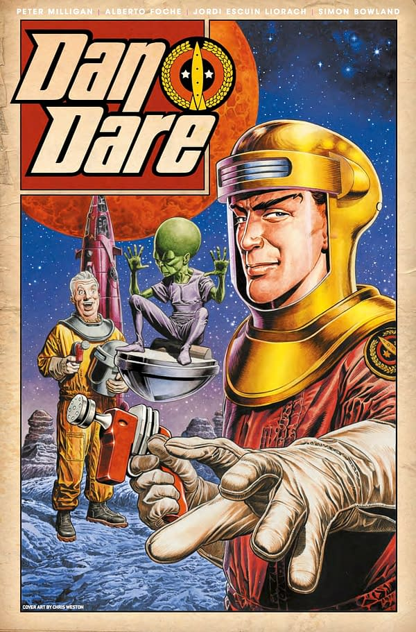 Dan Dare #1 Review: A Bit Of The Old, And Just Enough Adventure