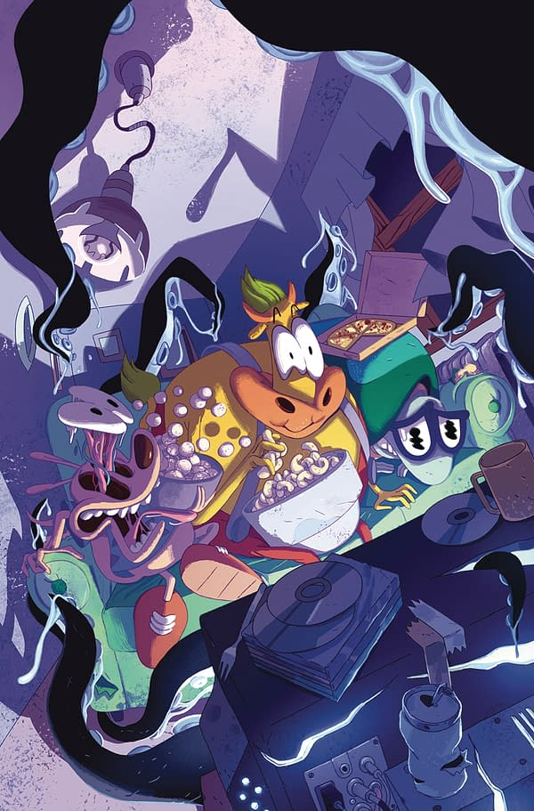 BOOM! January Solicits: Abbot, Mech Cadet Yu, Adventure Time/Regular Show, And More!