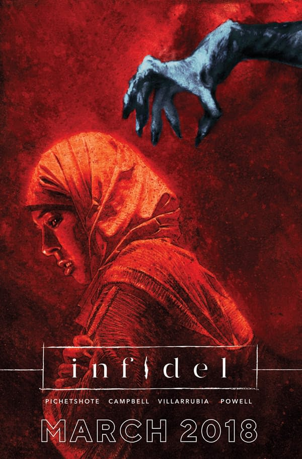 Image Comics Announces The Infidel By Pornsak Pichetshote And Aaron Campbell For March 2018