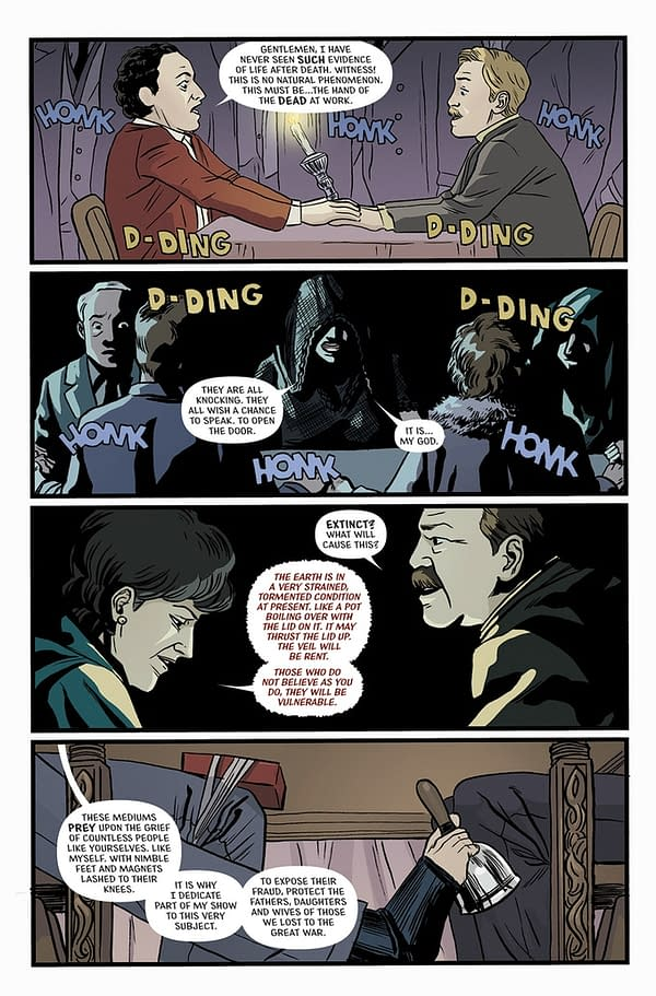 Support 'The Death Defying' Comic On Kickstarter Before Matthew Rosenberg Gets Any Angrier
