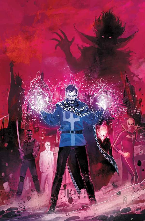 Doctor Strange: Damnation Gets a Bunch of Tie-ins, Including Johnny Blaze: Ghost Rider #1?!