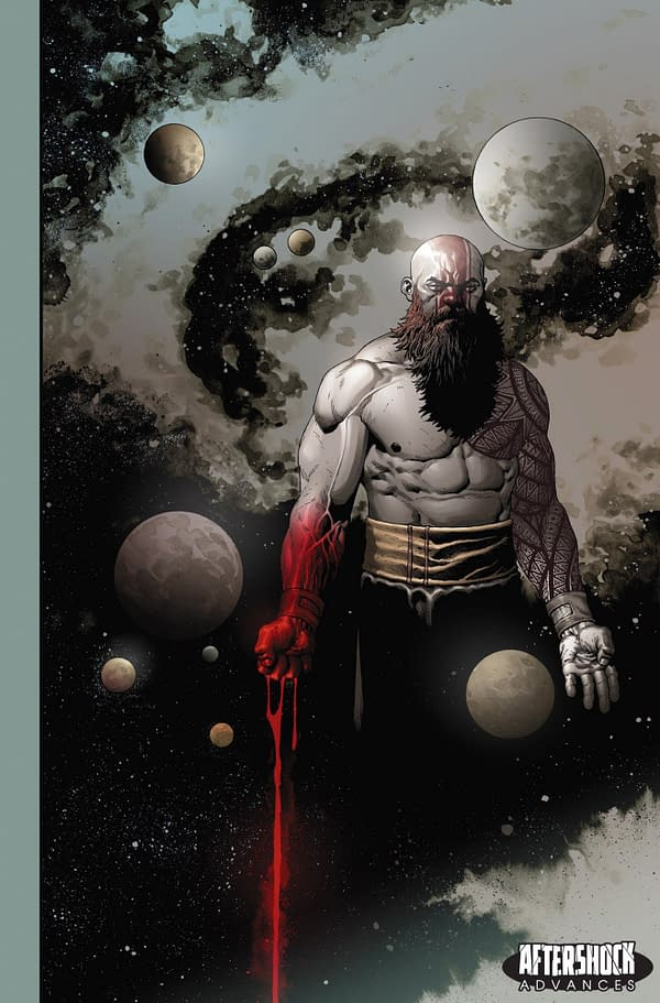 AfterShock Launches New Anthology Comic, Shock, with Neil Gaiman, Marc Guggenheim, Jim Starlin, Charles Vess and More