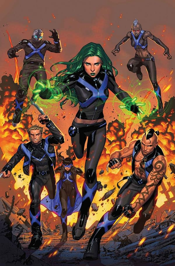 New Cast of X-Men Blue Reveals Escalating Wolverine War Between Marvel's X-Books