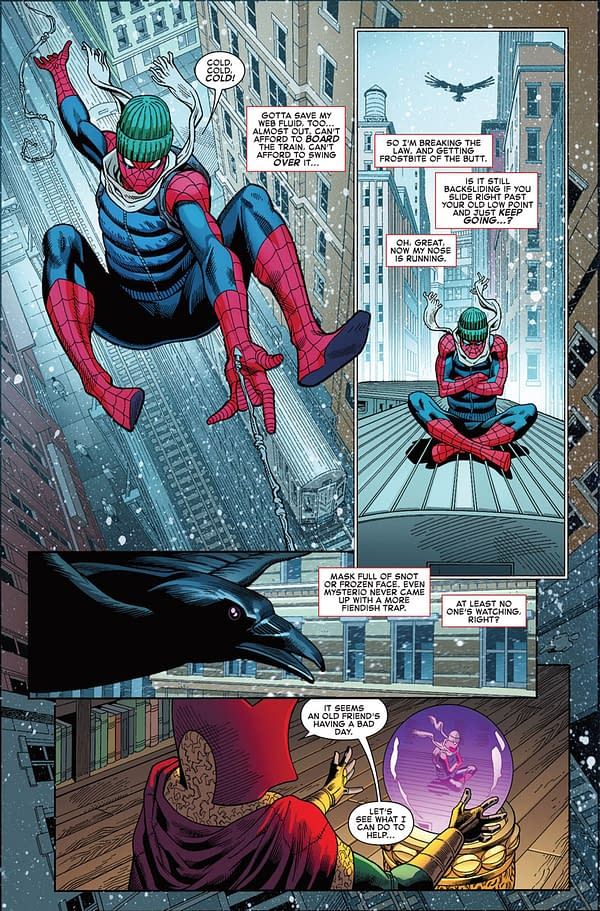 Amazing Spider-Man #795 art by Mike Hawthorne, Terry Pallot, and Marte Gracia