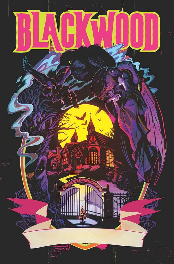 Evan Dorkin, Fishes Launch Unofficial Beasts of Burden Spinoff Blackwood at Dark Horse